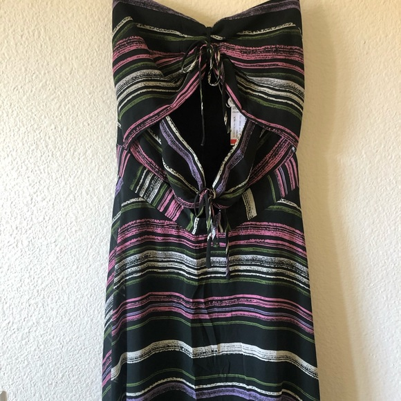 WAYF Maxi Cut-Out Dress